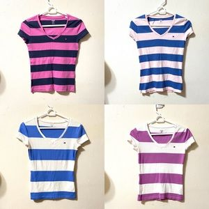 4/$25 Tommy Hilfiger Striped Tees